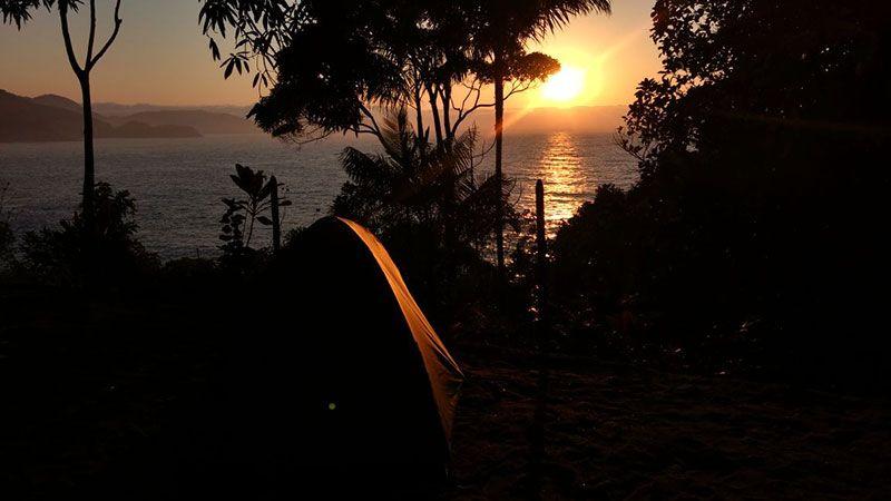 Meu primeiro acampamento